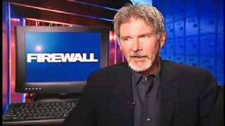 Harrison Ford interview for Firewall