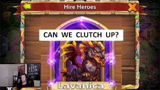 Rolling 50k Gems For LAVANICA Can We MAKE IT HAPPEN Castle Clash