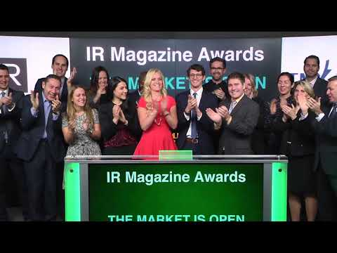 IR Magazine opens Toronto Stock Exchange