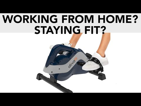 WORKING FROM HOME? CAN UNDER-DESK EXERCISE BIKES KEEP YOU FIT?