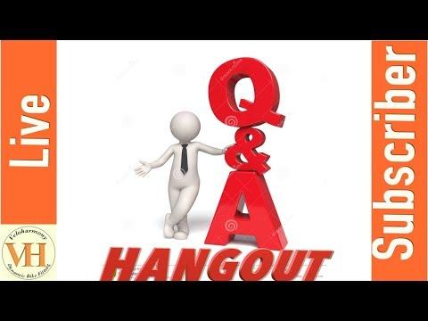3/20/2019 Veloharmony Live – Subscriber Hangout Q&A