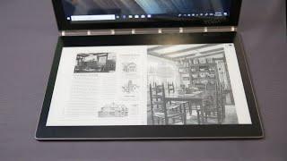 Lenovo Yoga Book C930: Una laptop con teclado en tinta electrónica