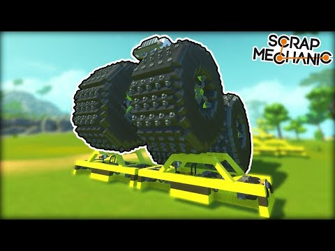 """We Searched for """"Monster Trucks"""" and Got Crushing Results! (Scrap Mechanic Gameplay)"""