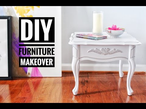 DIY | Furniture Makeover | Goodwill | Thrift Store End Tables