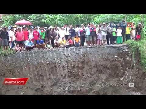 JEMBATAN PENGHUBUNG BANJARNEGARA – KEBUMEN AMBRUK| Berita Banjarnegara Hari Ini | Satelit Tv