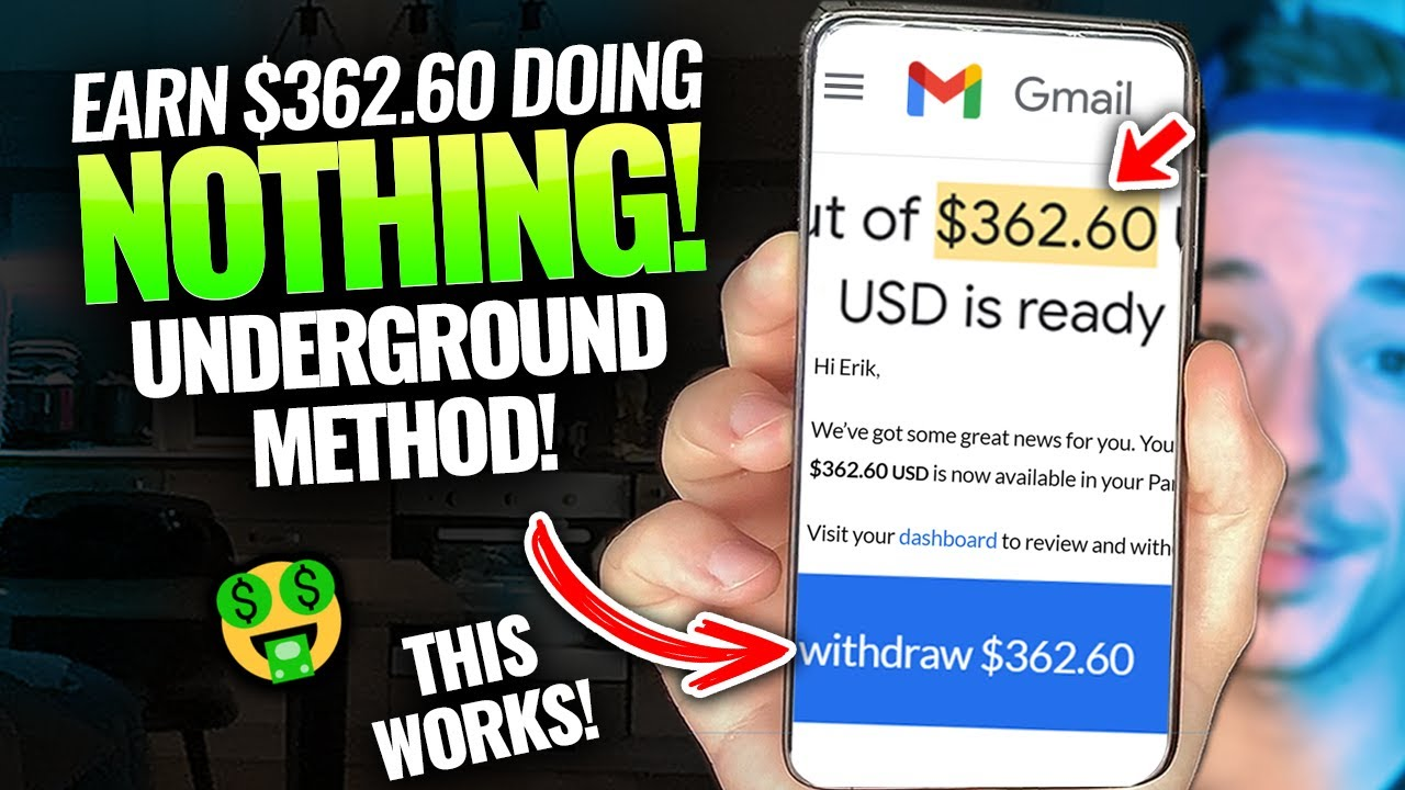 How To Earn Money Online DOING ABSOLUTELY NOTHING ($ 1,000 !)|Generate Income Online Totally Free thumbnail