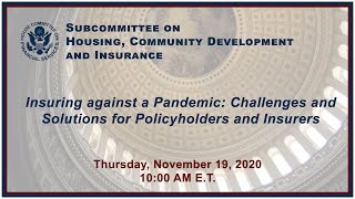 Virtual Hearing - Insuring Against a Pandemic: Challenges and Solutions for Policyholders and Insurers
