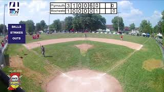 Town and Country 12U State Finals Game #12 Plymouth vs Frankton 7-28-19
