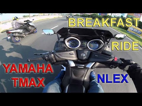 YAMAHA TMAX BREAKFAST RIDE with TMAX Riders Club Phils