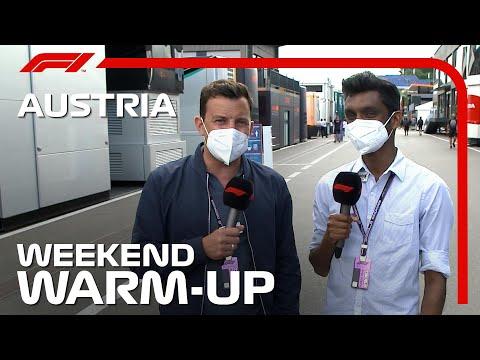 Weekend Warm Up! 2021 Austrian Grand Prix