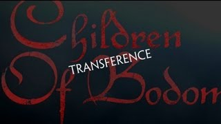CHILDREN OF BODOM - Transference (OFFICIAL LYRIC VIDEO)