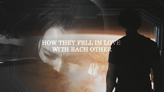 Bellamy & Clarke - How they fell in love with each other (1x01-4x13)