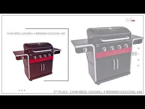 Gasgrill 4 Brenner die besten im Vergleich – Test & Vergleich Gasgrill 4 Brenner Bestseller