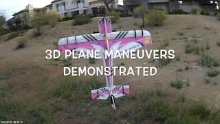 Basic 3D Plane Maneuvers Demonstrated