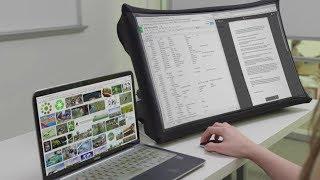 中國小夥發明便攜顯示器,折疊後僅壹本書大小,手機秒變24寸大屏