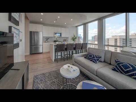 A River North 1-bedroom CA7 at the new One Chicago Apartments