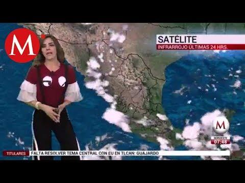 El clima para hoy 27 agosto 2018 con Marilú Kaufman