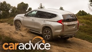 Mitsubishi Pajero Sport— Two and four-wheel drive modes explained
