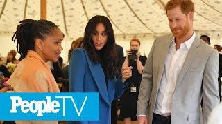 Meghan Markle's Mom Doria Had The Ultimate Proud Mom Moment At The Palace | PeopleTV