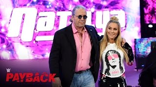 """WWE Hall of Famer Bret """"The Hitman"""" Hart makes his entrance: WWE Payback 2016 on WWE Network"""