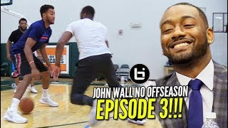 How Does John Wall Travel?! + NBA Nike Jersey Reveal & More! | NO OFFSEASON | episode 3