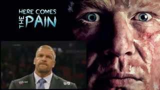 Brock Lesnar returns - Raw 7/21/2014