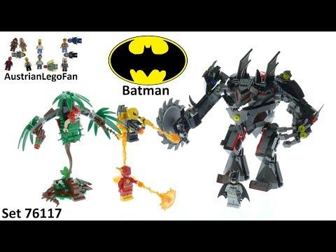 Vidéo LEGO DC Comics Super Heroes 76117 : Le robot Batman contre le robot Poison Ivy