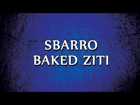 Video Sbarro Baked Ziti | RECIPES | EASY TO LEARN