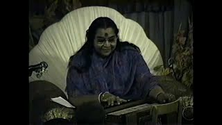 Mother's Day Celebration, Short talk on creativity and Shri Mataji playing harmonium thumbnail