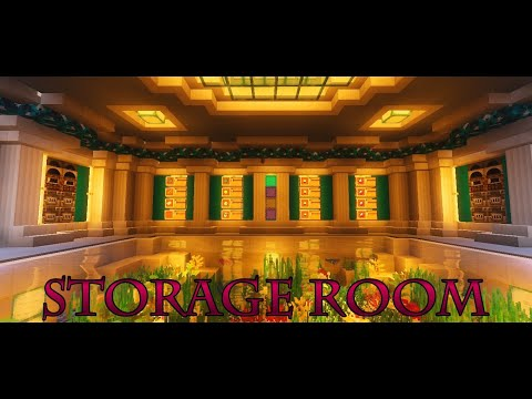 Minecraft Storage Room Designs Minecraft Map
