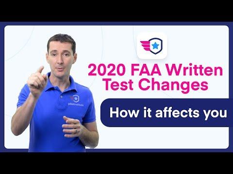 FAA Written Exams changes in 2020 - YouTube