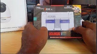 Nintendo 3DS XL Super Nintendo Edition with super Mario Kart Review