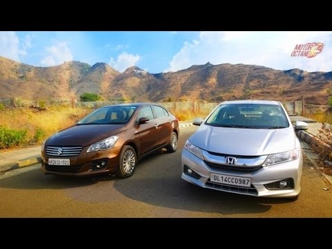 Motoroctane Youtube Video - Maruti Ciaz 2017 vs Honda City - Hinglish