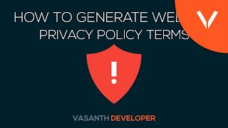 How To Make Privacy Policy For Your Website | Privacy Policy Explained !
