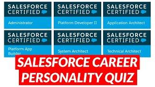 Salesforce Career Personality Quiz