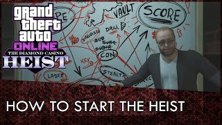 GTA Online: How To Start The Casino Heist (Casino Heist Guide)