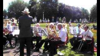 KLBB. Brass in the Park - 'Close Every Door'. 3rd July 2011