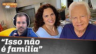 Filhos pedem interdição de Cid Moreira e prisão da madrasta