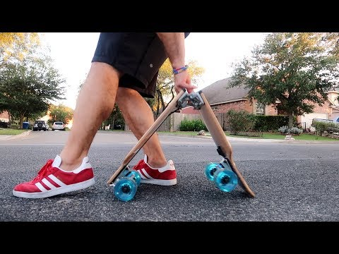 BoardUp – CRAZY SELF-FOLDING LONGBOARD **review**