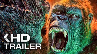 All MONSTERVERSE Movie Trailers (2014 - 2021)