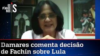 Damares Alves: Estou triste, Brasil não aguenta mais corrupção