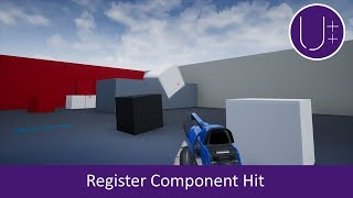 Unreal Engine 4 C++ Tutorial: Register Component Hit