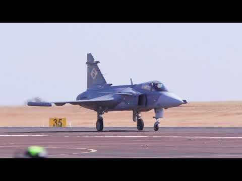 El F-39 Gripen realiza su primer vuelo en los cielos de Brasil