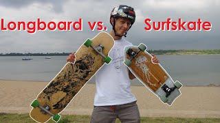 Longboard oder Surfskate - Was ist das richtige für dich?: Unterschiede, Eigenschaften, Fahrgefühl