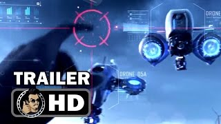KILL SWITCH Official Trailer (2017) Dan Stevens, Berenice Marlohe Sci-Fi Action Movie HD
