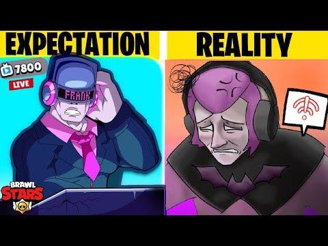 EXPECTATION vs REALITY Brawl Stars #2 Funny Moments & Fails & Glitches
