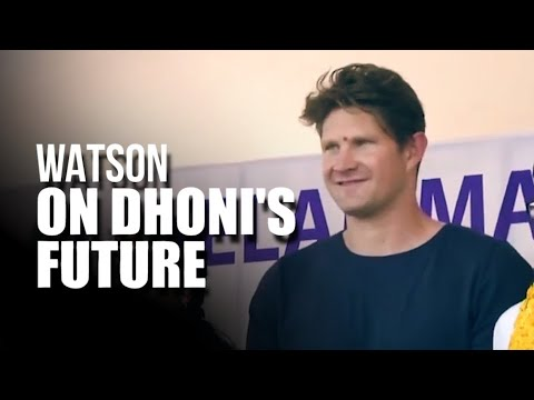 'Dhoni still has the skills, depends on what he wants to do': Shane Watson
