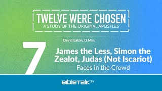 James the Less, Simon the Zealot, and Judas Not Iscariot: Faces in the Crowd