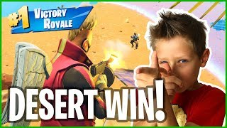 Victory Royale in the DESERT!