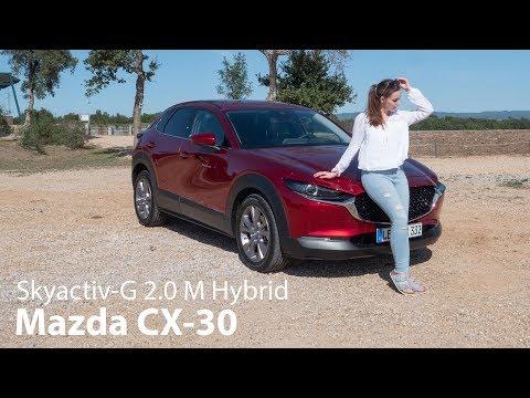 2019 Mazda CX-30 Skyactiv-G 2.0 M Hybrid Fahrbericht / Der SUV-Bruder des Mazda3 - Autophorie